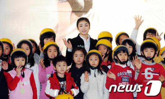 [사진]인천공항 '복합문화공간' 오픈식 참석한 김연아