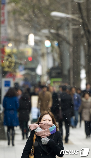 [사진]첫눈 내리는 서울