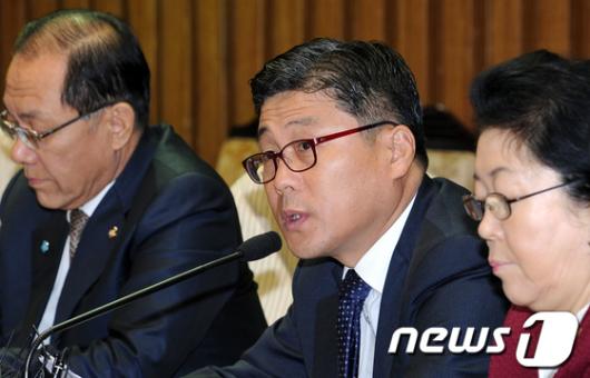 """[사진]김정권 """"보좌진에 정치 성패 달려있다."""""""
