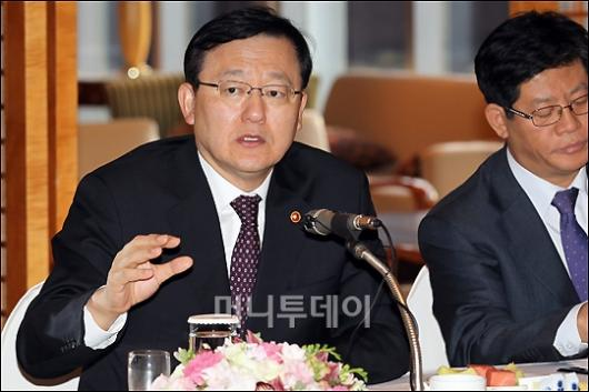 [사진]홍석우 지경부 장관 ཏ개 주요 업종 간담회'