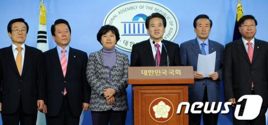 [사진]'임시국회 소집 합의는 원천 무효'