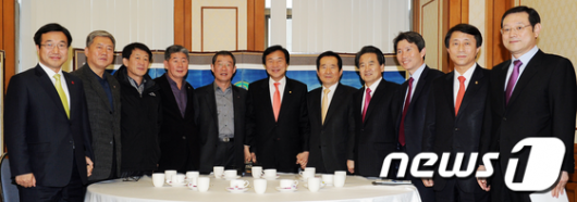 [사진]민주당-한국노총 협상단 회동