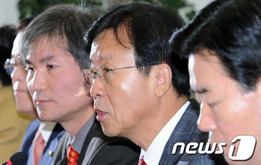 """[사진]원혜영 """"정부 北 조의 방침 적절"""""""