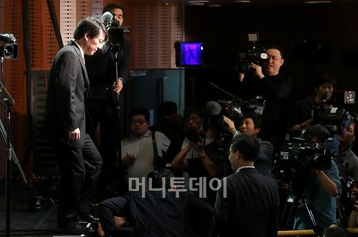[사진]안철수, '대선을 향한 발걸음'
