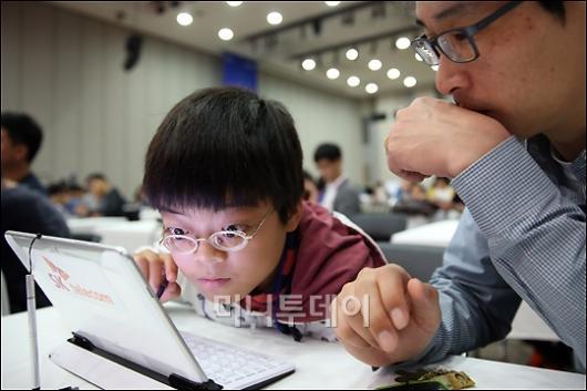 [사진]IT챌린지 참가한 장애청소년