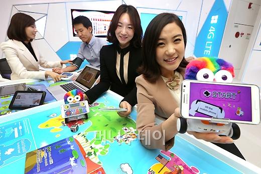 [사진]SK텔레콤 티움, 첨단 LTE 체험존 오픈!