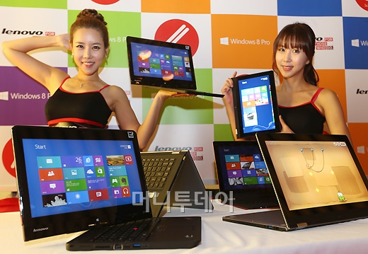 [사진]레노버, 노트북과 태블릿 결합한 컨퍼터블 출시