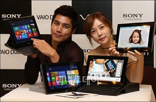[사진]소니코리아, '키보드+태블릿' 바이오듀오11 출시