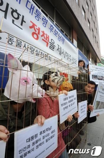 [사진]동물복지를 위한 정책을 제시해 주세요!
