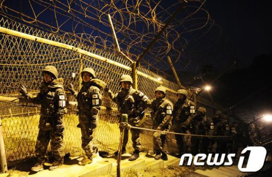 [사진]남자친구 군대에 보낸 곰신들, 전방체험