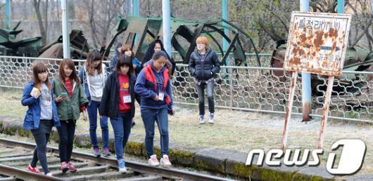 [사진]곰신들의 안보견학