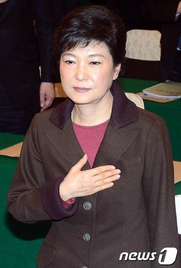 [사진]박근혜 후보, '동북아 안보 심포지엄 '참석