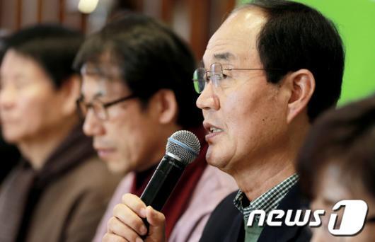 """[사진]이수호 """"서울 혁신교육 지키겠다"""""""