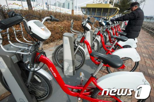 [사진]서울시, 공공자전거 운행재개