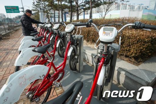 [사진]서울 공공자전거, 운휴 마치고 운행재개
