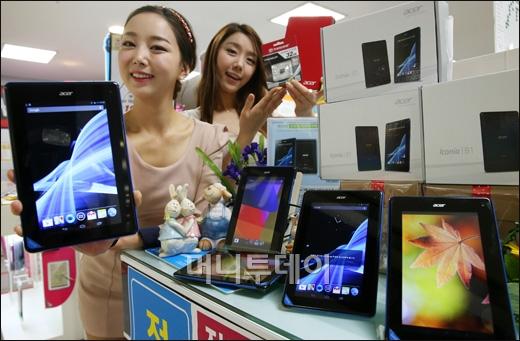 [사진]롯데마트, 19만 9천원 7인치 태블릿 PC 출시