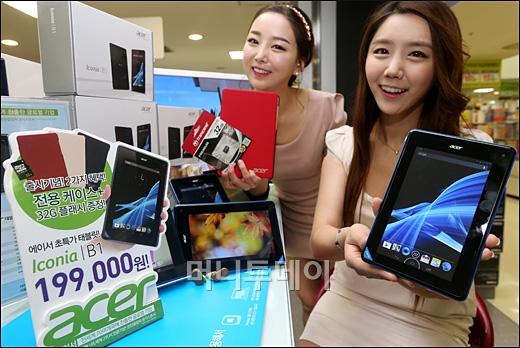 [사진]롯데마트, ཏ만9천원' 태블릿 PC 단독 출시