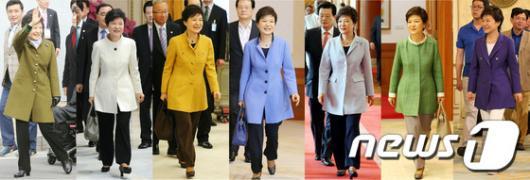 [사진]朴 대통령 취임 100일간의 패션