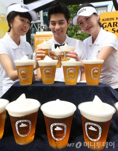 [사진]'기린 이치방 가든' 한국서 첫 오픈!