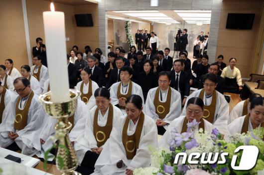 [사진]이건희 회장 장모, 故 김윤남 씨 빈소