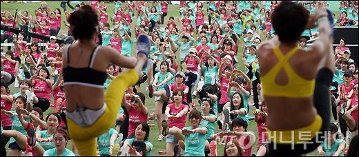 [사진]아디다스, 2,000여명이 함께하는 마이걸스 파티
