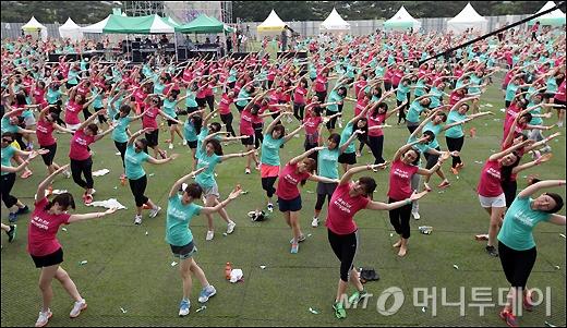[사진]2,000여 명이 함께하는 트레이닝 파티