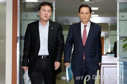 [사진]신제윤-남상구, 공적자금관리위원회 제78차 회의 참석