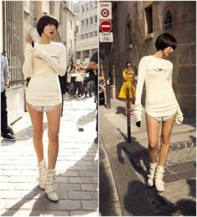 배두나의 '뉴요커' 패션