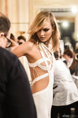 Atelier Versace, 2015 S/S 백스테이지