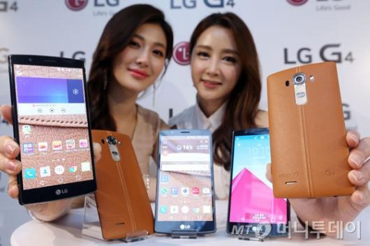 [사진]LG전자, 프리미엄 스마트폰 'G4' 출시