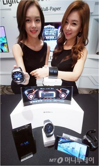 [사진]LG디스플레이, '신기한 OLED 신제품'