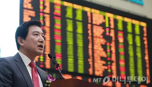 [사진]최규남 대표, '아시아 최대 LCC로 성장할 것'