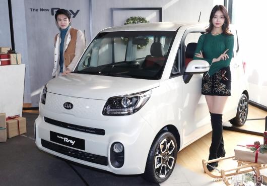 [사진]기아자동차 '더 뉴 레이' 공개