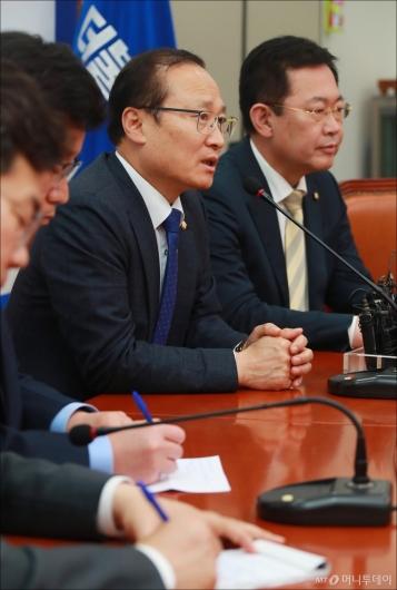 [사진]한국GM 임단협 잠정합의 기자회견