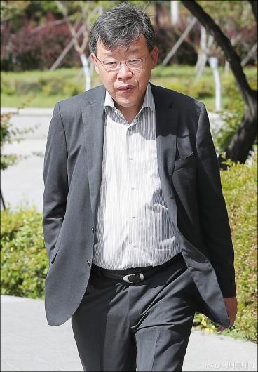 [사진]'노조와해 의혹' 받고있는 박상범 전 삼성전자서비스 대표