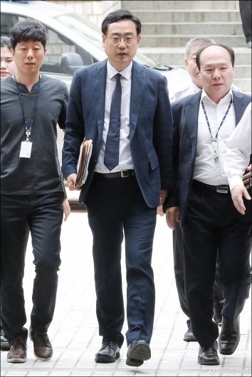 [사진]영장실질심사 받는 변희재 미디어워치 대표고문