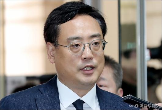 [사진]영장실질심사 받는 '태블릿PC 조작설' 변희재