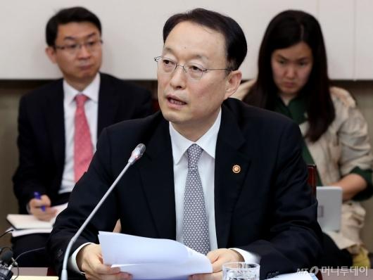[사진]발언하는 백운규 산업통상자원부 장관
