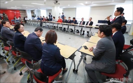 [사진]자유한국당 선대위 전체회의