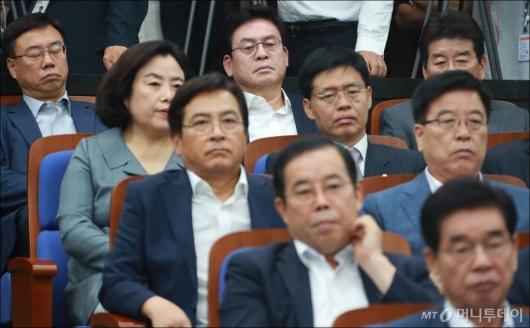 [사진]무거운 분위기의 자유한국당