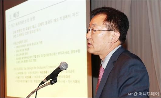 [사진]종합부동산세제 개편 방향 발표하는 최병호 위원