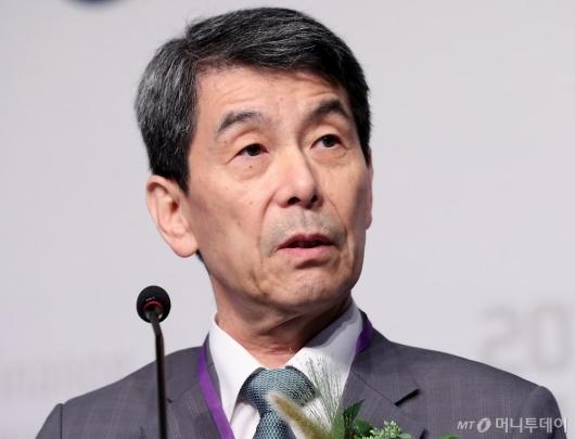 [사진]이동걸 회장, 글로벌 IP 금융 컨퍼런스 축사