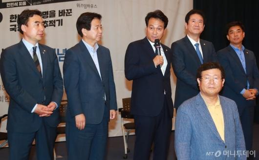 [사진]안민석, '끝나지 않은 전쟁' 출판기념회