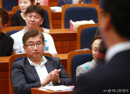 [사진]박관천-노승일, 안민석 출판기념회 참석