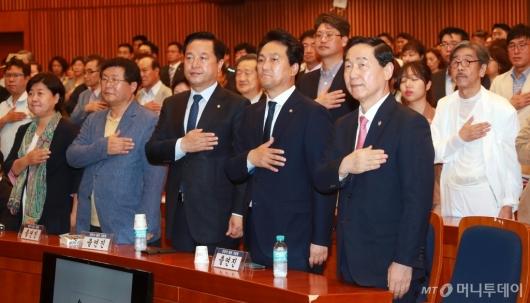 [사진]안민석 '끝나지 않은 전쟁' 출판기념회
