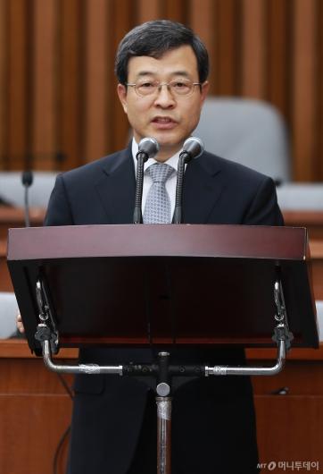[사진]이동원 대법관 후보자 모두발언