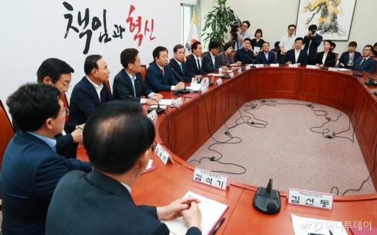 [사진]자유한국당 첫 비대위원회의 개최