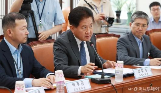 [사진]현안보고하는 서주석 국방부 차관