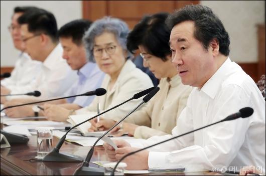 [사진]발언하는 이낙연 총리