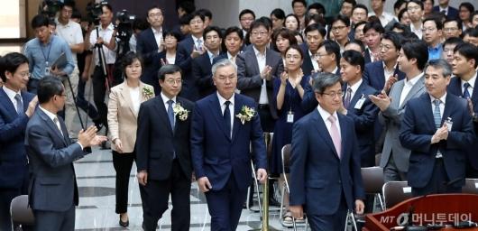[사진]김선수 이동원 노정희 대법관 취임식